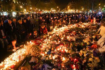 Paris attack rememberance